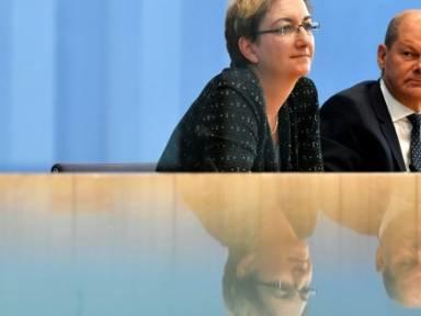 """Geywitz und Scholz wollen """"die SPD wieder nach vorne bringen"""""""