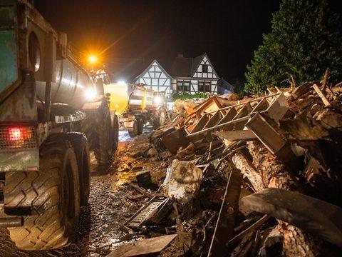 Katastrophe in Ahrweiler - Hochwasser: Polizei Koblenz meldet über 90 Tote