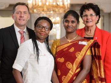 Staatsempfang für DAHW: 60 Jahre weltweite Hilfe