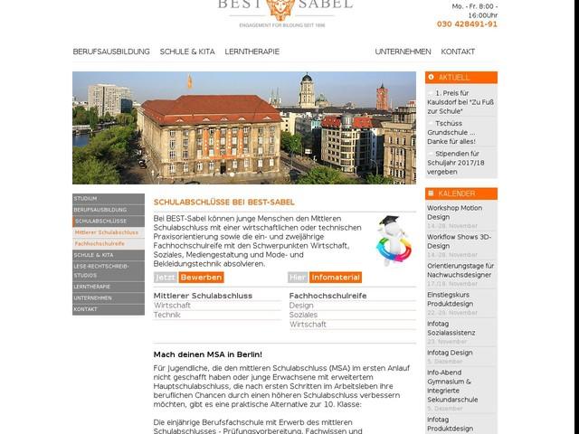 MSA Berlin - Realschulabschluss nachholen - durchgefallen oder nicht bestanden, wir helfen!