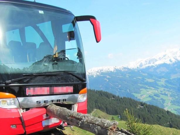 Rettungsaktion: Urlauber verhindert Absturz eines Busses kurz vor Abgrund