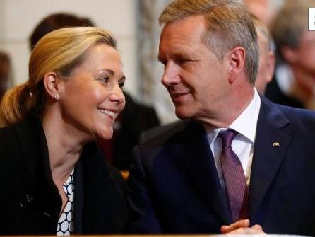 Bettina und Christian Wulff zeigen sich das erste Mal gemeinsam