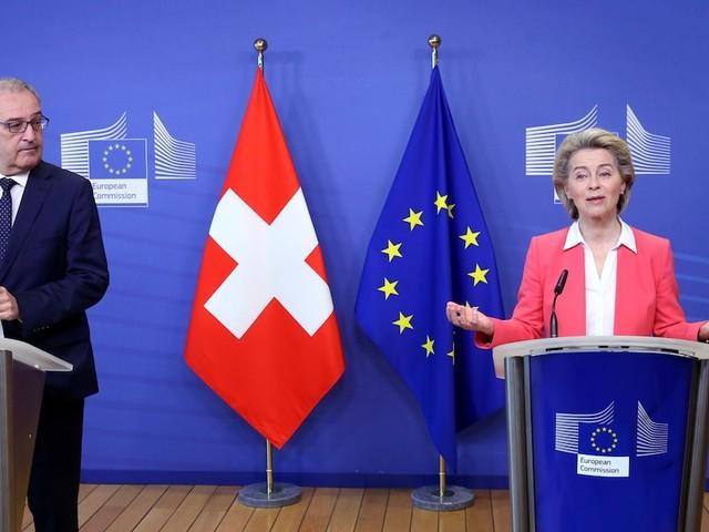 Streitpunkte nicht beigelegt - Nach sieben Jahren Verhandlungen: Schweizlässt Riesen-Abkommen mit der EU platzen