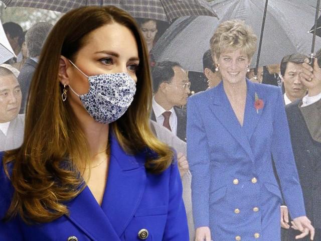 Royales Style-Duell: Kate ehrt verstorbene Diana nicht nur mit diesem Look