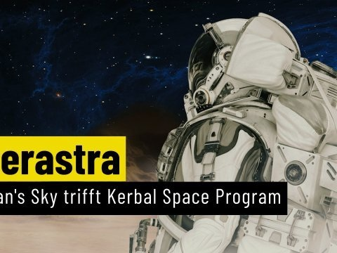 Interastra: No Mans Sky trifft auf Kerbal Space Program