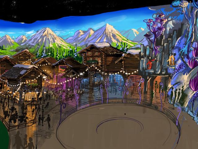 """Holiday Park gibt Eröffnungszeitraum von überdachtem Themenpark """"Holiday Indoor"""" mit neuer Achterbahn bekannt"""