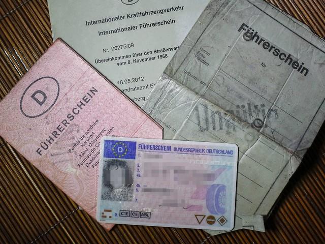 Gültigkeit belegen: Probleme mit altem Führerschein im Ausland?