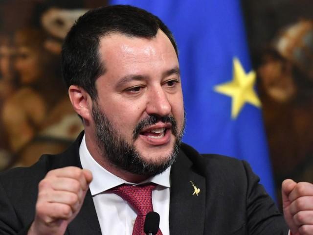 """Salvini lästert über den """"schrecklichen Präsidenten"""" Macron"""