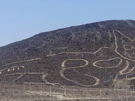 Peru: Geoglyph in Form einer Katze entdeckt