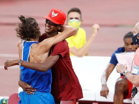 Gleich zwei Olympiasieger im Hochsprung