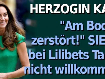 """Herzogin Kate in Royal-News: """"Am Boden zerstört!"""" SIE ist bei Lilibets Taufe nicht willkommen"""