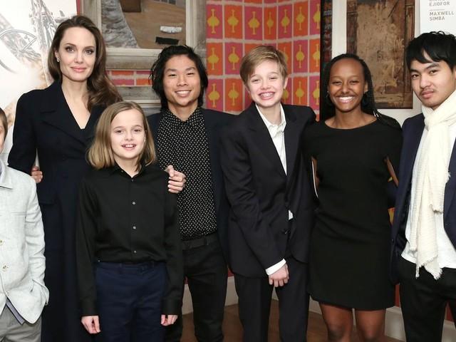 Angelina Jolie: Drei seiner Kinder wollten gegen Brad Pitt aussagen
