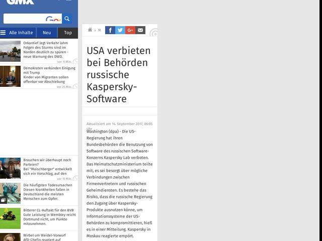 USA verbieten bei Behörden russische Kaspersky-Software