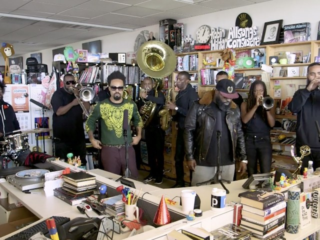 Tiny Desk Concert: The Roots Feat. Bilal