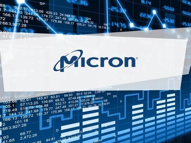 Micron Technology-Aktie Aktuell - Micron Technology notiert mit 1,5 Prozent Verluste