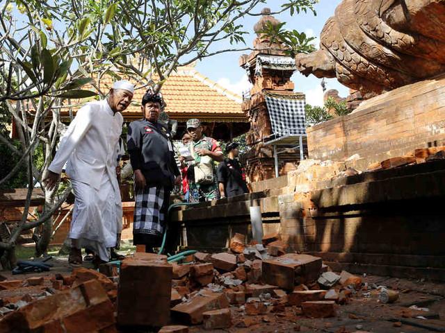 Mit Stärke 5,7: Beben erschüttert indonesische Urlaubsinsel Bali
