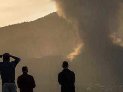Es ist der erste Ausbruch des Vukans in der Cumbre Vieja auf der spanischen Insel La Palma seit 50 Jahren.