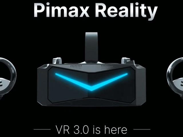 "Virtual Reality: Pimax kündigt autarkes PC-Highend-Headset ""Reality 12K QLED"" an"