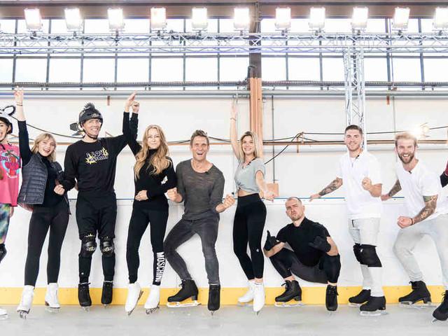 """Blaue Flecken und Zerrungen: Zahlreiche """"Dancing on Ice""""-Promis erleiden Blessuren bei Training für Sat.1-Show"""