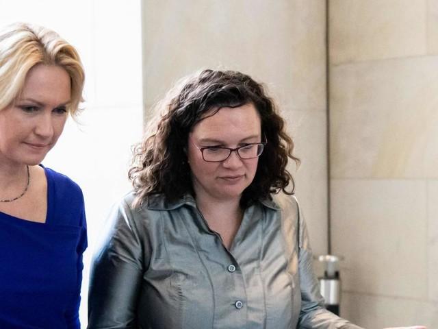 Ex-SPD-Chefin Nahles verlässt das deutsche Parlament