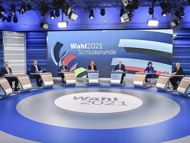 TV-Runde: Letzter Schlagabtausch im Schlussspurt des Wahlkampf