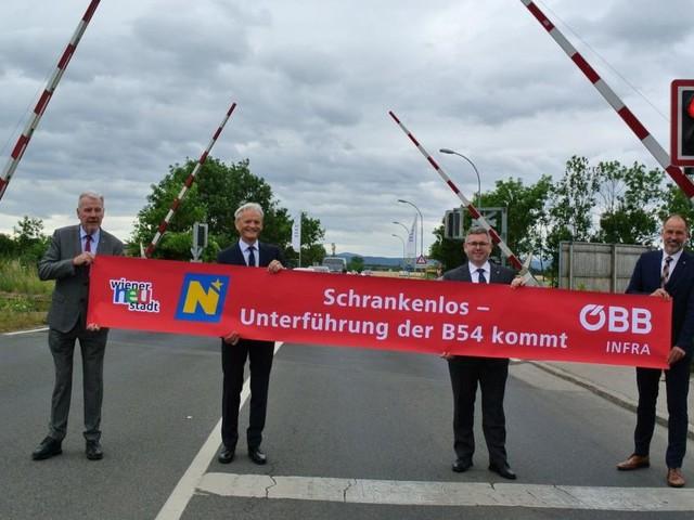 Drei harte Jahre bis zur neuen Unterführung in Wr. Neustadt