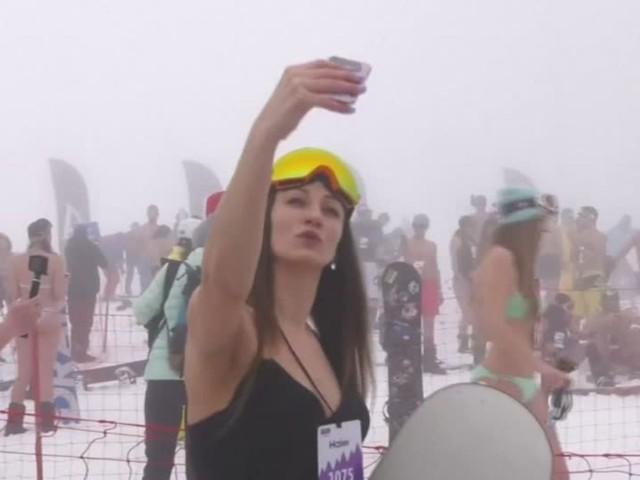 Video: Pack die Badehose ein - und ab auf die Piste!