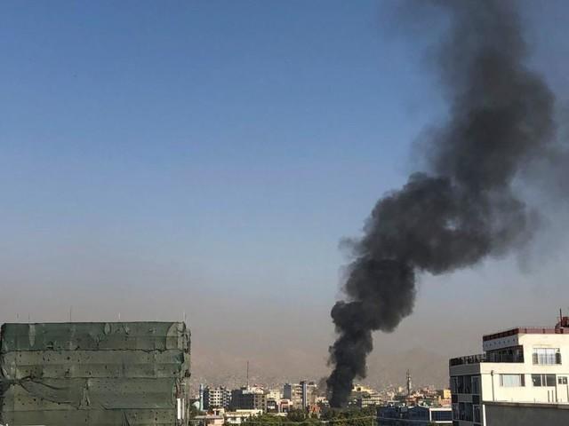 Heftige Explosion erschüttert Kabul