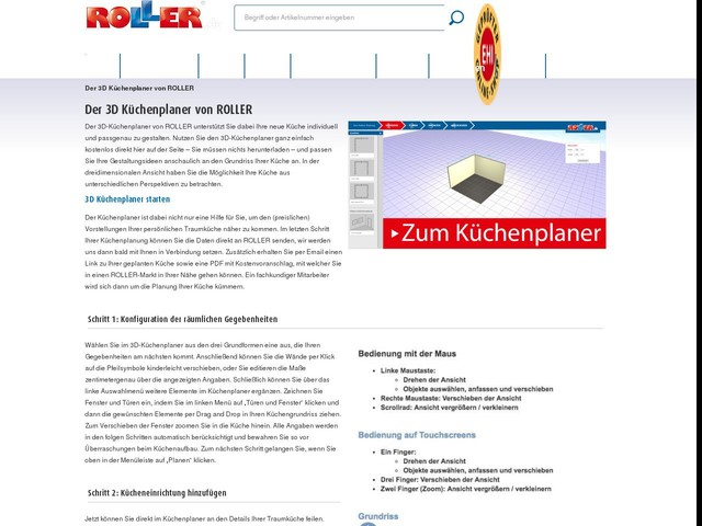 Küchenplaner Roller 3d küchenplaner ohne anmeldung kostenlos mit preis fiwodo de