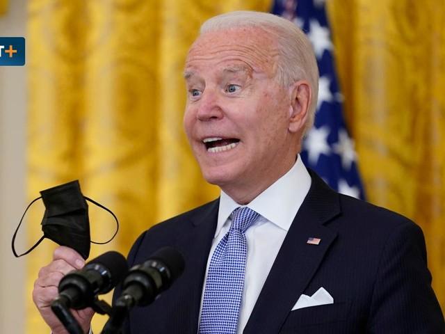 """Präsident Biden fleht sein Volk an - """"Wenn Sie ungeimpft sind, stellen Sie ein Problem dar"""""""