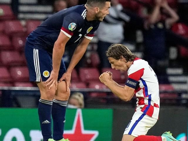 """Kroatien feiert Achtelfinale: """"Land namens Modric"""""""
