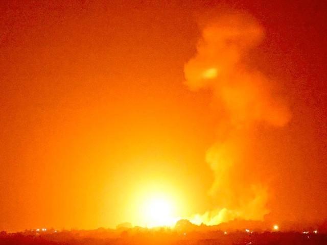 Nach Brandballon-Attacken greift Israel Ziele im Gazastreifen an