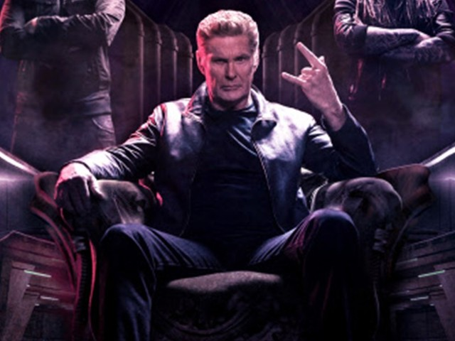 David Hasselhoff macht jetzt Heavy Metal
