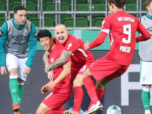 Forsberg schoss Leipzig in Minute 121 in Bremen ins Pokal-Finale