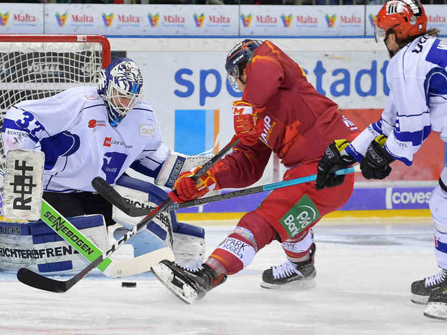 Eishockey in der DEL: DEG unterliegt Straubing nach Verlängerung