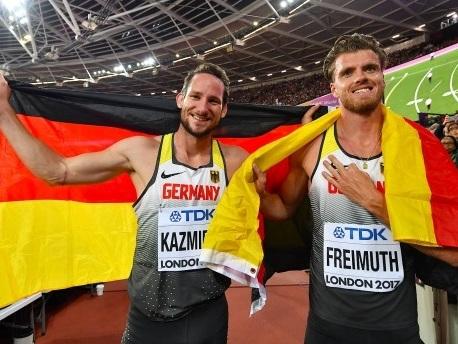 Leichtathletik WM: Silber und Bronze für deutsche Zehnkämpfer