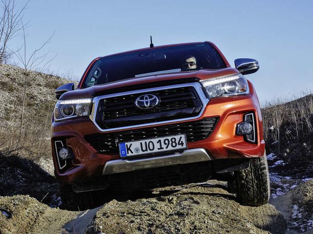 Toyota Hilux - Testfahrt mit einem Unkaputtbaren