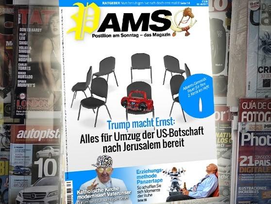 Morgen in PamS: Trump macht Ernst – Alles für Umzug der US-Botschaft nach Jerusalem bereit