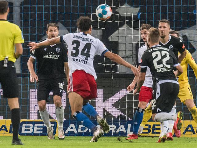 2. Liga: HSV siegt dank Last-Minute-Treffer