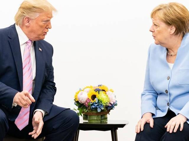 """Fast schon sadistisch"": Trump soll Merkel am Telefon beschimpft haben"