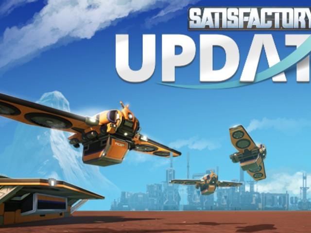 Satisfactory Update 4 im Test-Bereich (Experimental) veröffentlicht; Details zum großen Update
