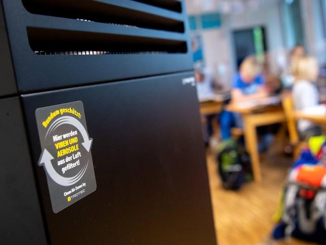 Luftfilter: Gewerkschaft Erziehung und Wissenschaft fordert die Anschaffung für alle Klassenräume