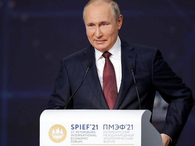 Putin - Verlegung von Nord Stream 2 fertig
