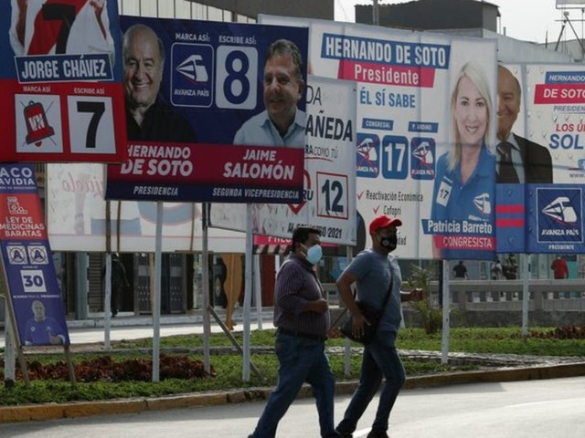 Erste Runde: 18 Bewerber für einen Job: Peru wählt neuen Präsidenten