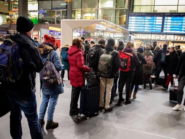 Folgen des Bahn-Warnstreiks: Im Fernverkehr fallen vereinzelt Züge aus