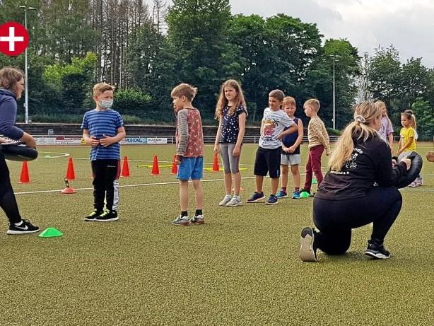 Sport im Park: To-San Ennepetal lehrt Selbstbehauptung für die Kleinsten