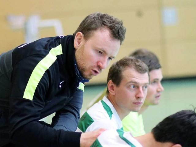 """TSV-Neuried-Coach Mathieu Jerzewski fordert """"Gier nach Siegen"""""""