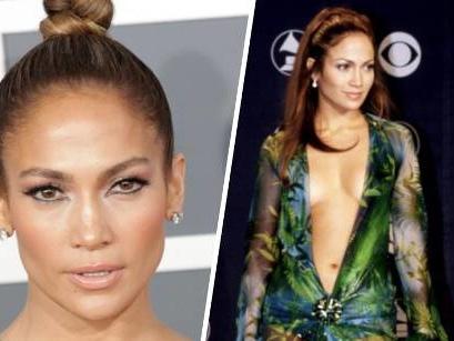 Für Versace-Show: Jennifer Lopez stylt ikonischen Grammy-Look nach