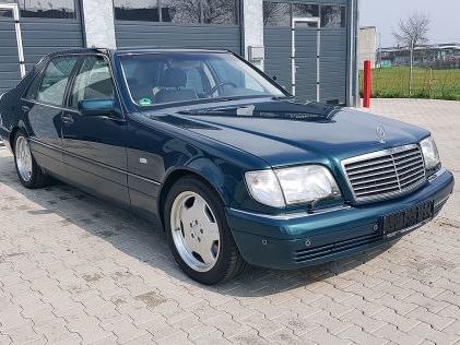 Mercedes S 70 AMG: S 600 L, W 140, Preis S-Klasse mit 7,0-Liter-V12 zu verkaufen