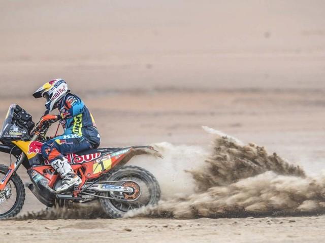 Walkner fällt bei Rallye Dakar auf Platz 7 zurück